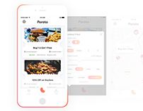 Poroto - Deals Mobile App & Brand Identity
