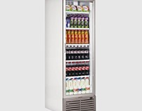 Caravell CBC401 Glass Door Display Cooler 380 Ltr