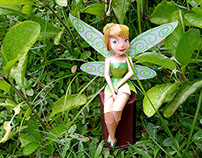 Paper Toy Photography - Tinkerbell