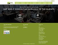 Web design & development for NEA Consulting