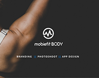 MobieFit Fitness - Branding and App Design