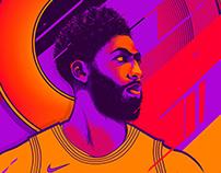 Anthony Davis - Illustration