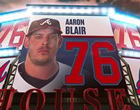 ATLANTA BRAVES, STADIUM GRAPHICS