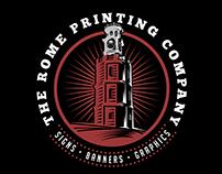 The Rome Printing Company Logo
