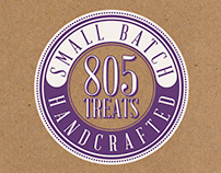 805 TREATS Logo Design