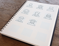 Character Icons for Project Icon 54