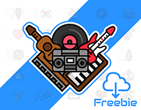 Free music genres icons