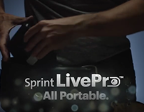 Sprint Live Pro Logo Development
