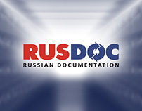 Логотип бюро переводов RUSDOC