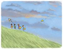 """""""Efe'nin Mutluluk Ölçeri"""" Children's book"""