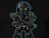 STAR WARS TROOPER BUDDY TSHIRTS