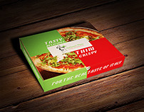 Serfonnos Pizza Branding + Packaging