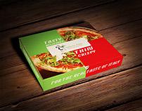 Serfonnos Pizza Branding + Packaging