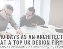 10 days as a young architect at a top UK design firm