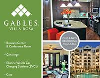 Gables Villa Rosa eBlast Design