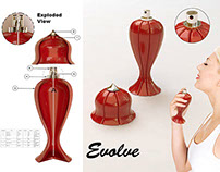 Evolve Perfume Bottle