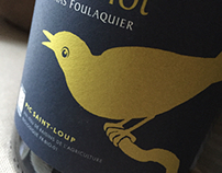Mas Foulaquier Wine Label
