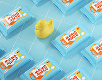 Branding And Packaging For Baby Bathing Products