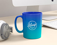 Colored Coffee Mug Mockup