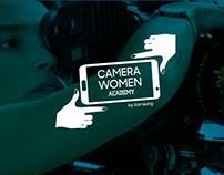 CAMERA WOMEN creative concept