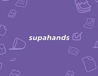 Supahands [Social Media Visuals]