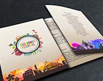 sabarmati festival brochure design