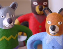 Woofly. Hand Crafted Toys.
