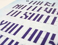 Draftsman Typeface