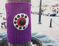 International Yarn Bombing Day 2012 Project