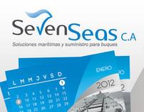 Calendario 2012  Seven Seas