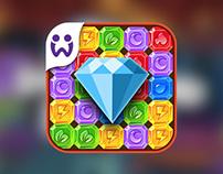 Wooga Diamond Dash iOS