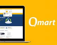 Qmart UI & UX Design Romania