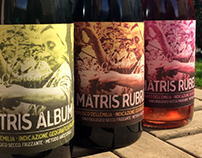 matris - wine labels