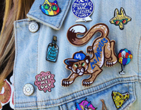 Pins Patches and Accessories