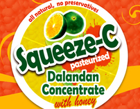 squeeze-c label packaging (2009) | Philippines