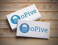Business card opive.sk