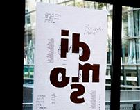Affiche-Conférence Editer=Designer, Alexandre Dimos