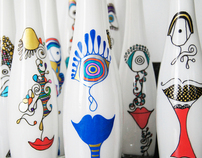 Customized vases