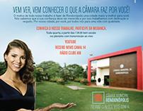 Campanha Câmara Municipal de Rondonópolis