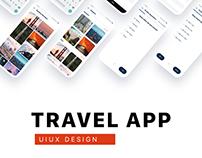 Travel UIUX Design by WSDesign.in team