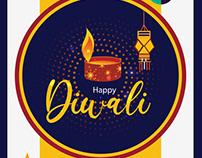 Happy Diwali vector download