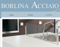 Sito Web - Restyling sito istituzionale Borlina Acciaio