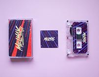 """MELMAK-69 """" Abducción"""" Album Artwork & Logo"""