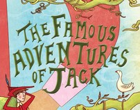The Famous Adventures of Jack, Cover Design