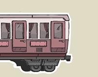 Comic Stylized Carriage Illustration