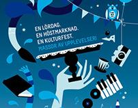 Illustrations. Case: Kultur Dag Natt.