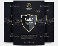 SANS Security Flyer