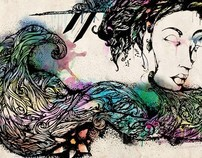 Ink-Illustrations