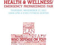 Health and Wellness Fair Poster
