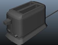 toaster asset for game internship